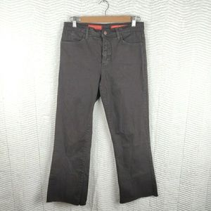 NYDJ Brown Tummy Tuck Bootcut Jeans Size 8